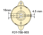 fdt-70a-fdn-70a shaft size